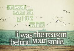 For a little while..