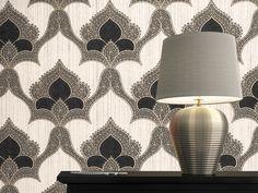 Idei de amenajare cu tapet vinil - Classic Top Italia Interior Decorating, Interior Design, Wall Lights, Flooring, Wallpaper, Classic, Floral, Home Decor, Italia