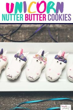 Easy and Fun Unicorn Nutter Butter Cookies - Homeschool Unit Study Ideas Chocolate Drip, Pink Chocolate, Melting Chocolate, Nutter Butter Cookie Recipe, Cookie Recipes, Piping Bag, Unicorn Cookies, Candy Flowers, Kid Snacks