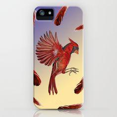 Cardinal iPhone & iPod Case by Jody Edwards Art - $35.00