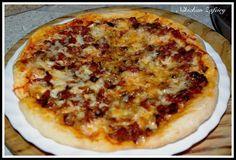 PIZZA DE TERNERA Y PIMIENTOS CON DOBLE DE QUESO Carne Picada, Pasta, Empanadas, Calzone, Hawaiian Pizza, My Recipes, Cheese, Quiches, Food