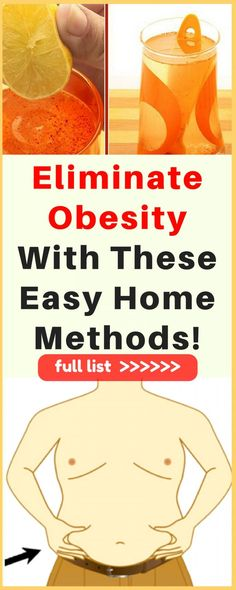 Eliminate Obesity With These Easy Home Methods! – Thin Is In Club