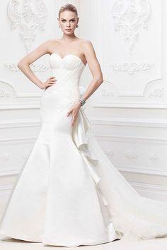 383628eb 50 Mermaid Dresses That'll Make You Weak in the Knees. Bridal Wedding  DressesWedding Dress StylesZac Posen ...