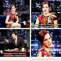 No Way Emma Watson Can Be Dangerous