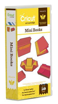 Mini Books Cricut Projects Cartridge