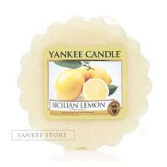 Yankee Candle Sicilian Lemon 10 Wax Tarts Scented Candle