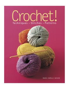 Crochet! shows readers from start to finish how to pick up a hook and create beautiful fashions and home décor items. Step-by-step instructions with full-color photographs illuminate the basic techniques. Eighty classic and fanciful stitches provide plenty of inspiration for crocheters of all levels. Twenty complete patterns—each with a full-page photo of the finished project—for sweaters, scarves, baby knits and toys, pillows and more round out this complete course in crochet.