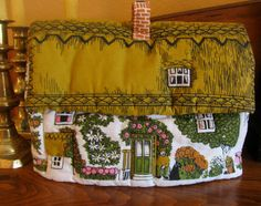Vintage English Country Cottage Tea Cosie by chameleonCMC on Etsy, $12.00