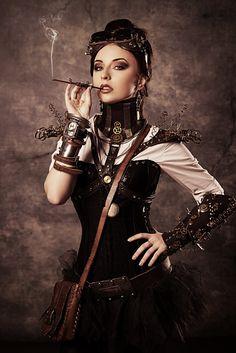 Steampunk XXIV by Luria-XXII.deviantart.com on @deviantART