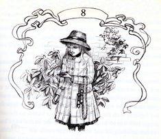 The Secret Garden Burnett 1962 illustrations by Tasha Tudor | The Secret Garden