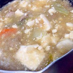 ミルク鍋で作った1人前用だけど大根半分使って更に鷹の爪入れたのでピリ辛感もアップ!鍋が美味しい季節ですねぇ♪ #料理 #料理男子  #FoxsKitchen - 3件のもぐもぐ - みぞれ鍋 by FoxSgb
