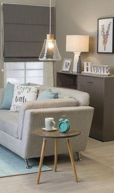 Puedes decorar tu sala tu mismo, o podemos ayudarte con el departamento de Decoración Cantia