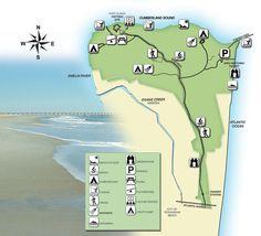 Campground Map Anastasia State Park Florida Pinterest