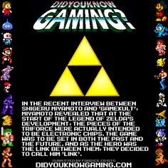 The Triforce was going to be Electronic Chips?