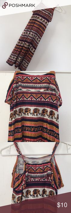 Forever 21 Girl's Maxi Dress with Elephant Motif This adorable maxi dress is super cute and just very lightly worn. It is ready for your girl to enjoy. It has adjustable straps and a perfect dress for summer. I have two of these in my closet as the twins just outgrew them before summer is even over! The elephant print is super cute and fabric very soft. Forever 21 Dresses Casual