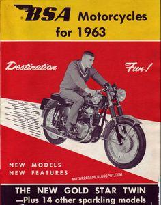 BSA, USA, 1963