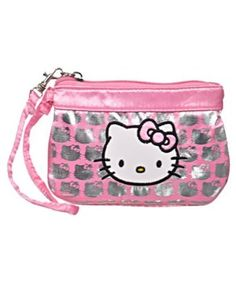 "Hello Kitty ""Shimmer Print"" Mini Clutch, (hello kitty, kids backpack, kids toys), via http://myamzn.heroku.com/go/B0078W1W3W/Hello-Kitty-Shimmer-Print-Mini-Clutch"