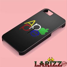 "apple green logo cool for iPhone 4/4s, iPhone 5/5S/5C/6/6 , Samsung S3/S4/S5, Samsung Note 3/4 Case ""005"""
