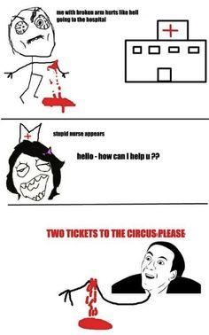 hahahahahhaha i actually laughed at this
