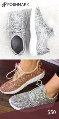 BNIB✨Rose Gold Glitter Converse Shoes Converse Chuck Taylor Low Top Sneakers  in Rose Gold Glitter a2dcf4fd3