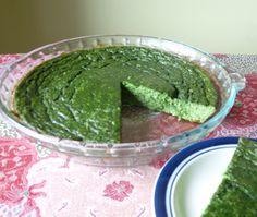 Spinach Kuku:    ....From Persia it is similar to an Italian frittata or Spanish tortilla....  From: http://seasonalontariofood.blogspot.ca/2012/04/spinach-kuku.html