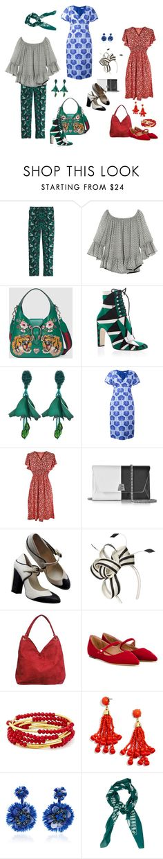 """Apple"" by ketutar ❤ liked on Polyvore featuring J.Crew, Isabel Marant, Gucci, Sergio Rossi, Oscar de la Renta, P.A.R.O.S.H., Akris, Chanel, Dorothy Perkins and Bamboo54"