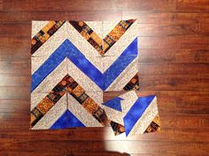 The Chevron Strip Tube Block is an eye-catching chevron quilt pattern that will look beautiful no matter what you make with it.