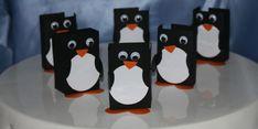 Pinguin rozijnen doosje trakteren gratis download silhouette studio