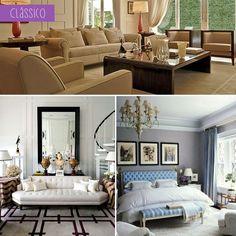Qual o seu estilo de decoração? O meu definitivamente é o clássico!!