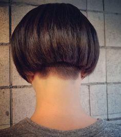 刈り上げショートボブスタイル | 桜木町・日ノ出町・野毛のプライベートな美容室irodoriyaと40歳2児の母店主の日常