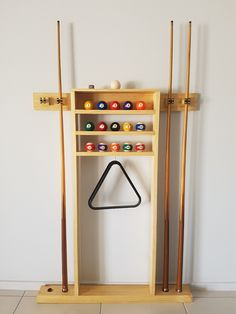 Pool Cue Rack Quickcrafter