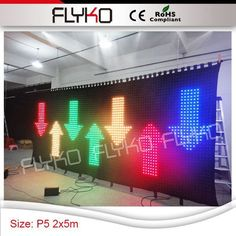 Stage Lighting Effect Free Shipping Lights & Lighting Pc Controller Led Soft Curtain Display Led Cortinas Led Video Curtain In Short Supply