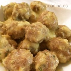 You searched for albondigas - Divina Cocina Spanish Dishes, Spanish Food, Mexican Food Recipes, Healthy Recipes, Ethnic Recipes, Chilean Recipes, Oven Dishes, International Recipes, Empanadas