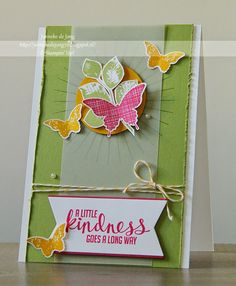 Happy Stampin´ : Stampin' Up! - A Little Kindness