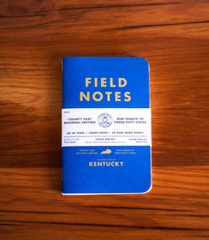 3-Pack Kentucky Field Notes