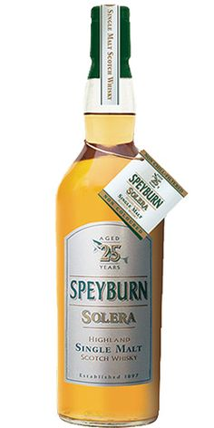 *Speyburn Solera 25 Years Old - Inver House - Scotland