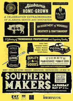 Where you'll find me! SOUTHERN MAKERS