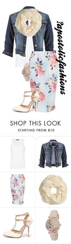 """""""Apostolic Fashions #1352"""" by apostolicfashions on Polyvore featuring MANGO, maurices, New Look, H&M, Wild Diva and Radley"""