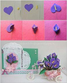 Artesanato em EVA Passo a Passo para Dia das Mães