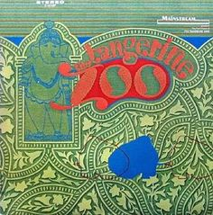 Classic rock concert psychedelic poster - The Tangerine Zoo - The Tangerine Zoo (1968)
