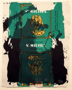 Robert Motherwell - St. Michael III | From a unique collection of prints and multiples at http://www.1stdibs.com/art/prints-works-on-paper/