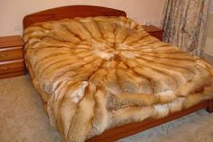red fox bed cover