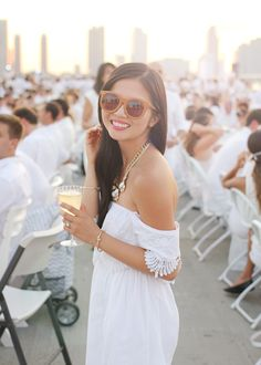 Diner en Blanc's All White Party