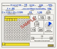 NEW-FRACTION/DECIMAL COMMON CORE CALENDAR!! We have added 2 ways to show expanded form and multiplying and dividing decimals.  There is also a fraction/percent wheel blackline so each student can show and see the percents and fractions. http://www.teacherspayteachers.com/Product/COMMON-CORE-MATH-CALENDAR-Fractions-Decimals-wConcrete-Rational-Wheel-Grade-900782