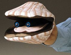 Folkmanis Puppets - Scallop.  Too funny!!