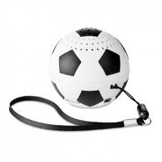 Haut-parleur personnalisé ballon de foot Fiesta - Cadeau publicitaire high-tech