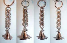 Sorting Hat-inspired keychains - Set 1