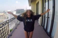 Beyonce's Kale Sweatshirt Can Be All Yours #beyonce #beyonce7/11video