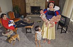 Dina Goldstein - Photographer Gives Disney Princesses A Dose Of Reality
