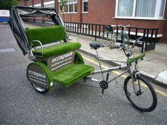 Bici Taxi - Bicicletas con publicidad. Puede haber algo más ecológico?